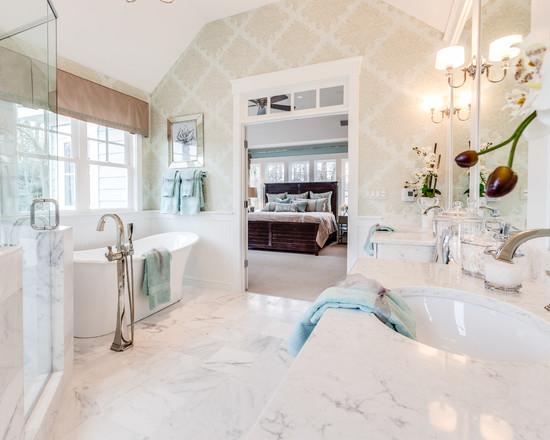 Bathroom Wallpaper Bath Design Ideas Pictures Remodel Decor with a 550x440