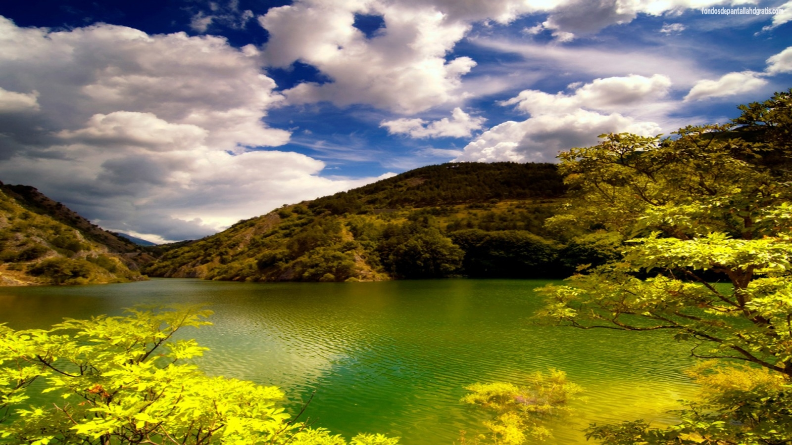 imagen cristianos paisaje con bonito lago fondos de pantalla gratis 1600x900