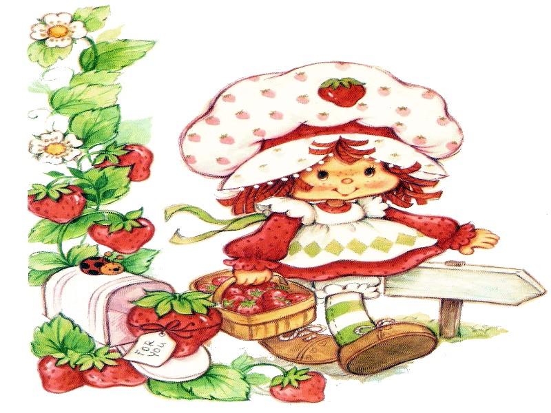 strawberry shortcake desktop 800x600