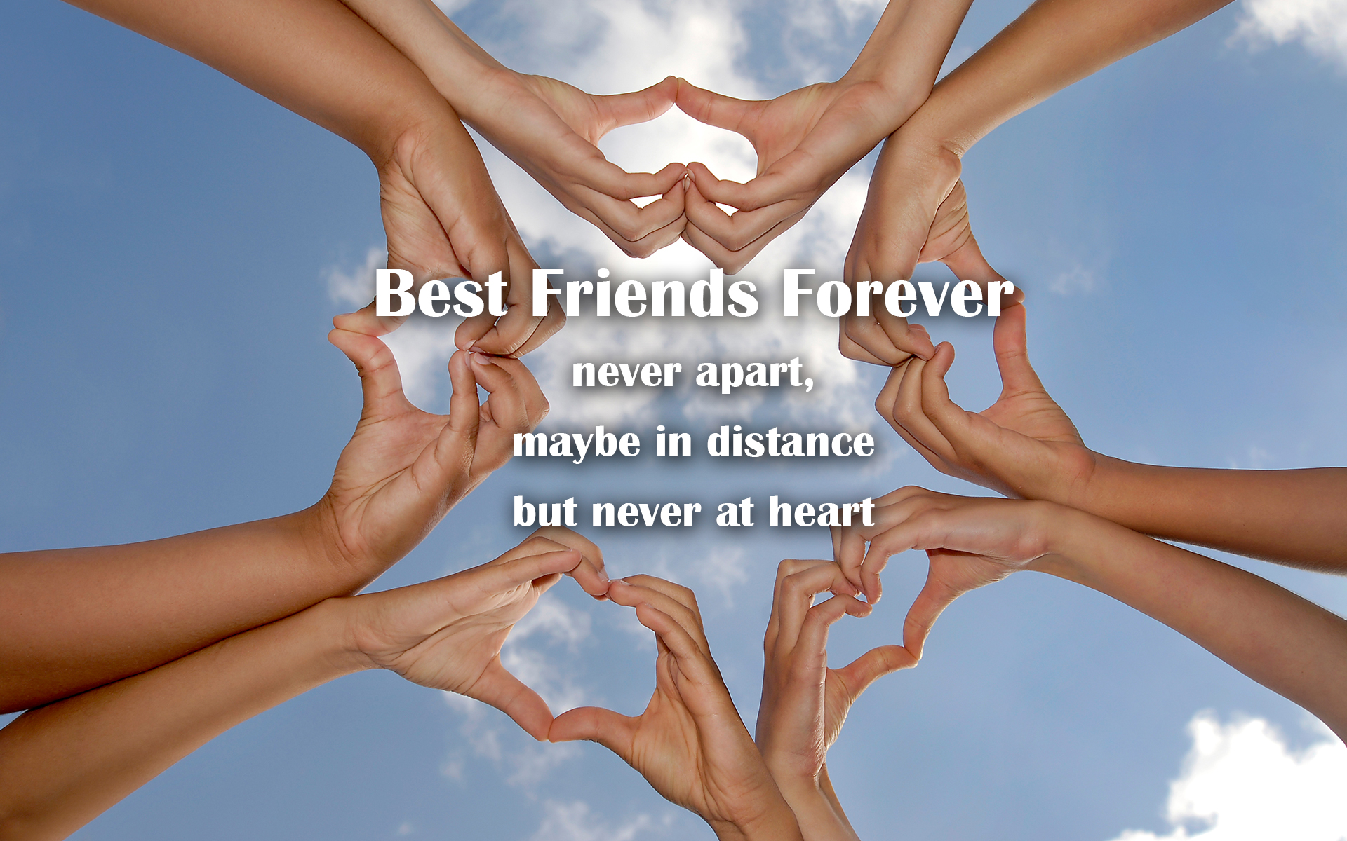 Download Best Friends Forever Backgrounds 1920x1200