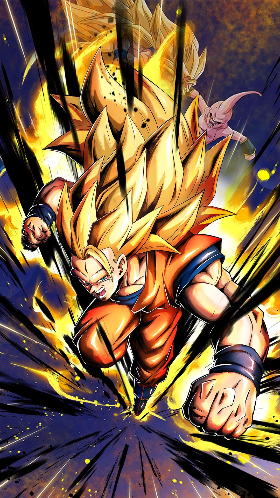 Free Download Super Saiyan 3 Goku Hd Wallpaper