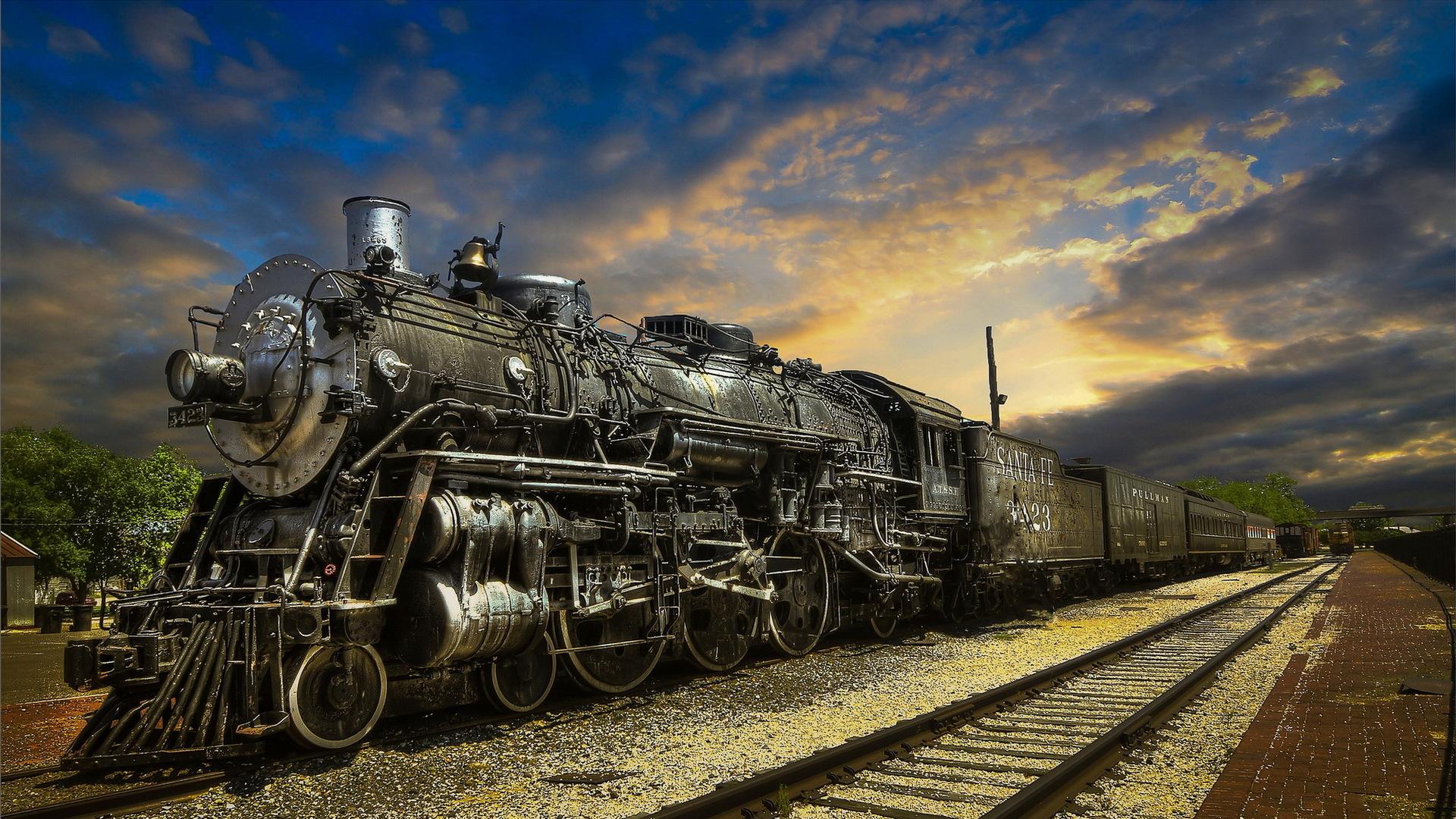 Fantastic Locomotive wallpaper 1920x1080 34976 1920x1080