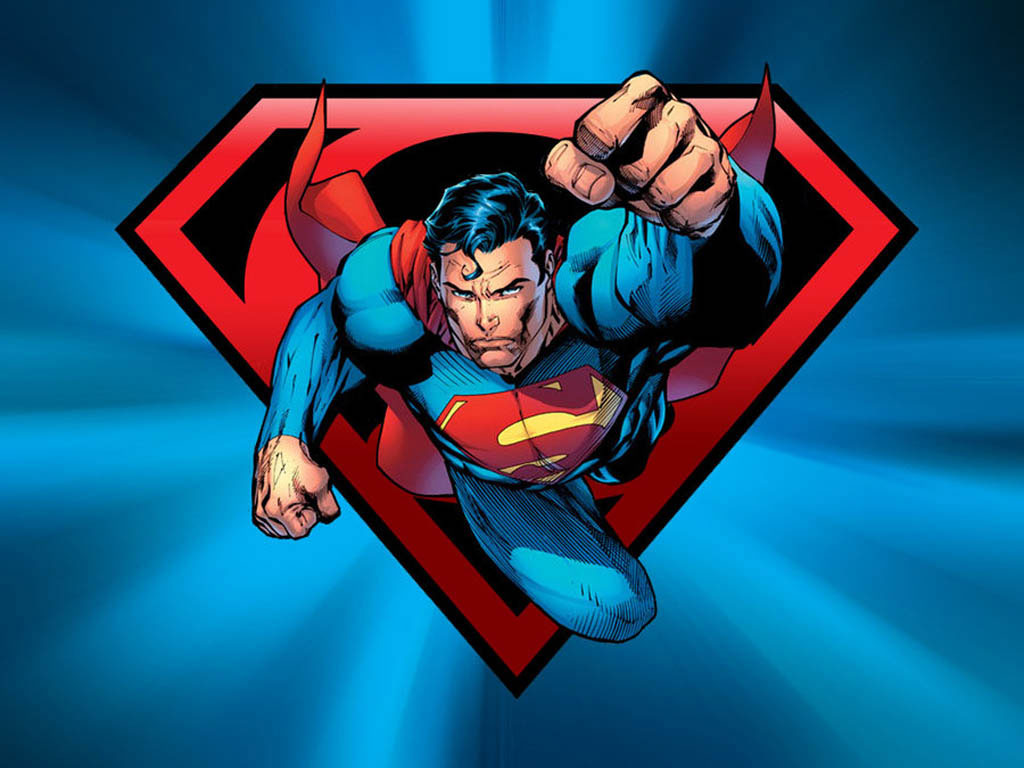 Cartoons Wallpapers   Superman 1024x768 wallpaper 1024x768