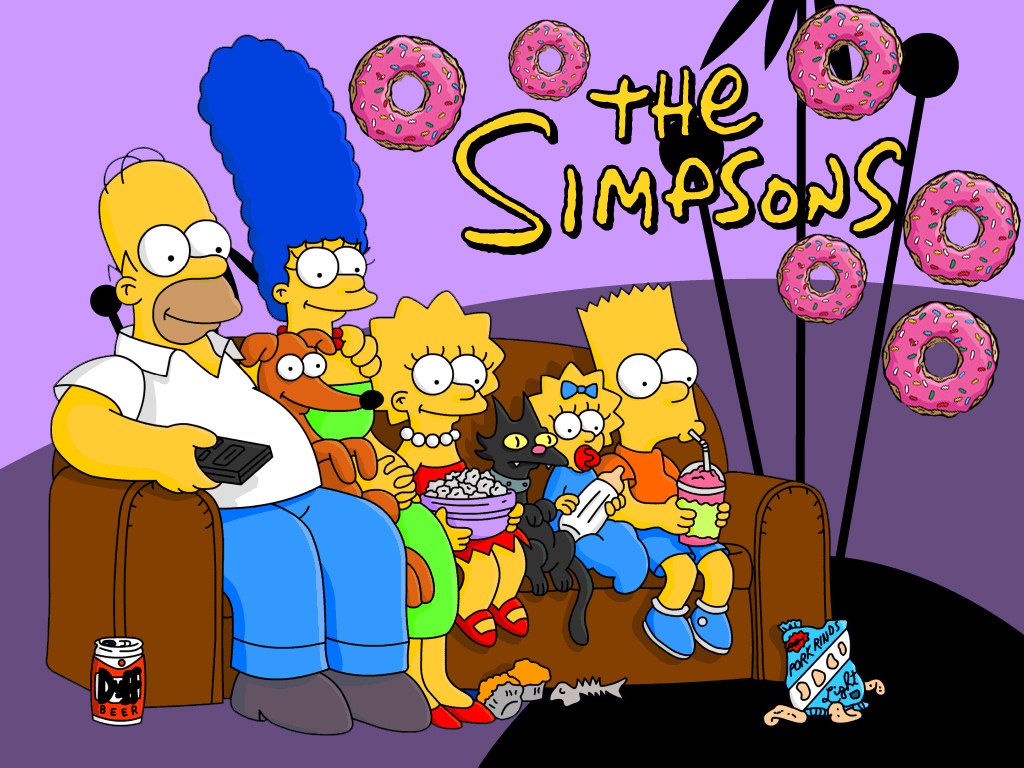 New wallpapers   The Simpsons Wallpaper 14856519 1024x768