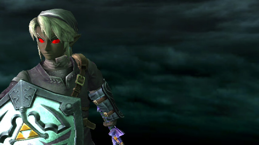 Dark Link Wallpaper by zabadoohp 853x480