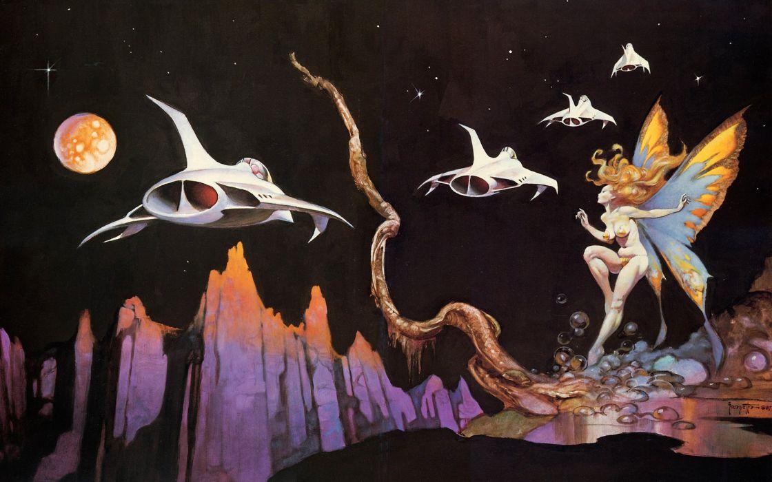 Fantasy art Frank Frazetta wallpaper 1920x1200 285898 1120x700