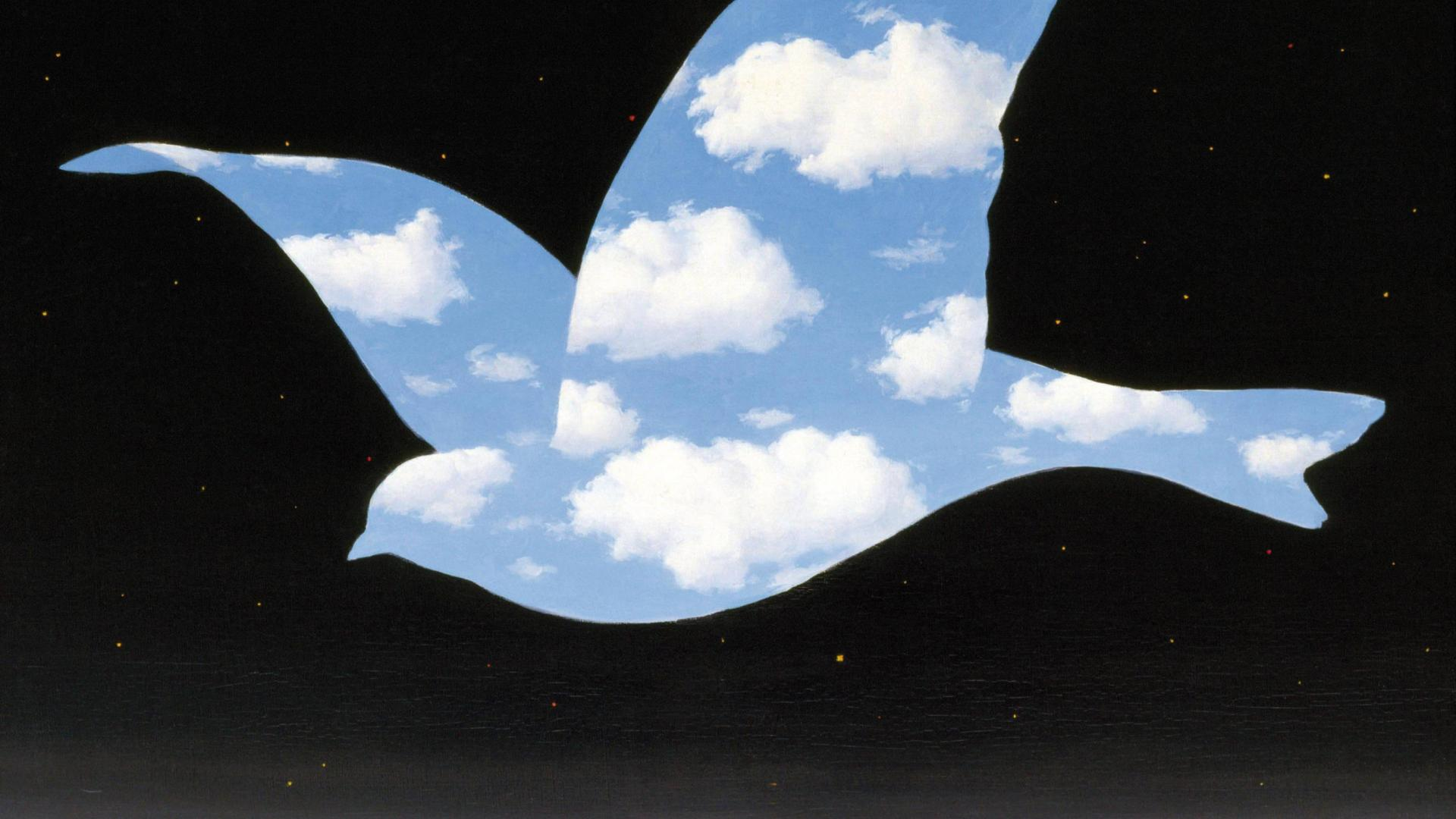 RENE MAGRITTE THE KISS WALLPAPER   76809   HD Wallpapers 1920x1080