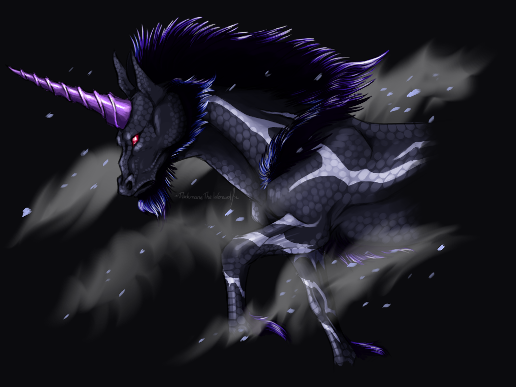 Black Ice Kirin by DarkmaneTheWerewolf 1024x768