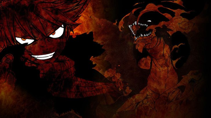 Natsu Dragneel Igneel Fire Dragon HD Wallpaper 19201080 Anime 728x409