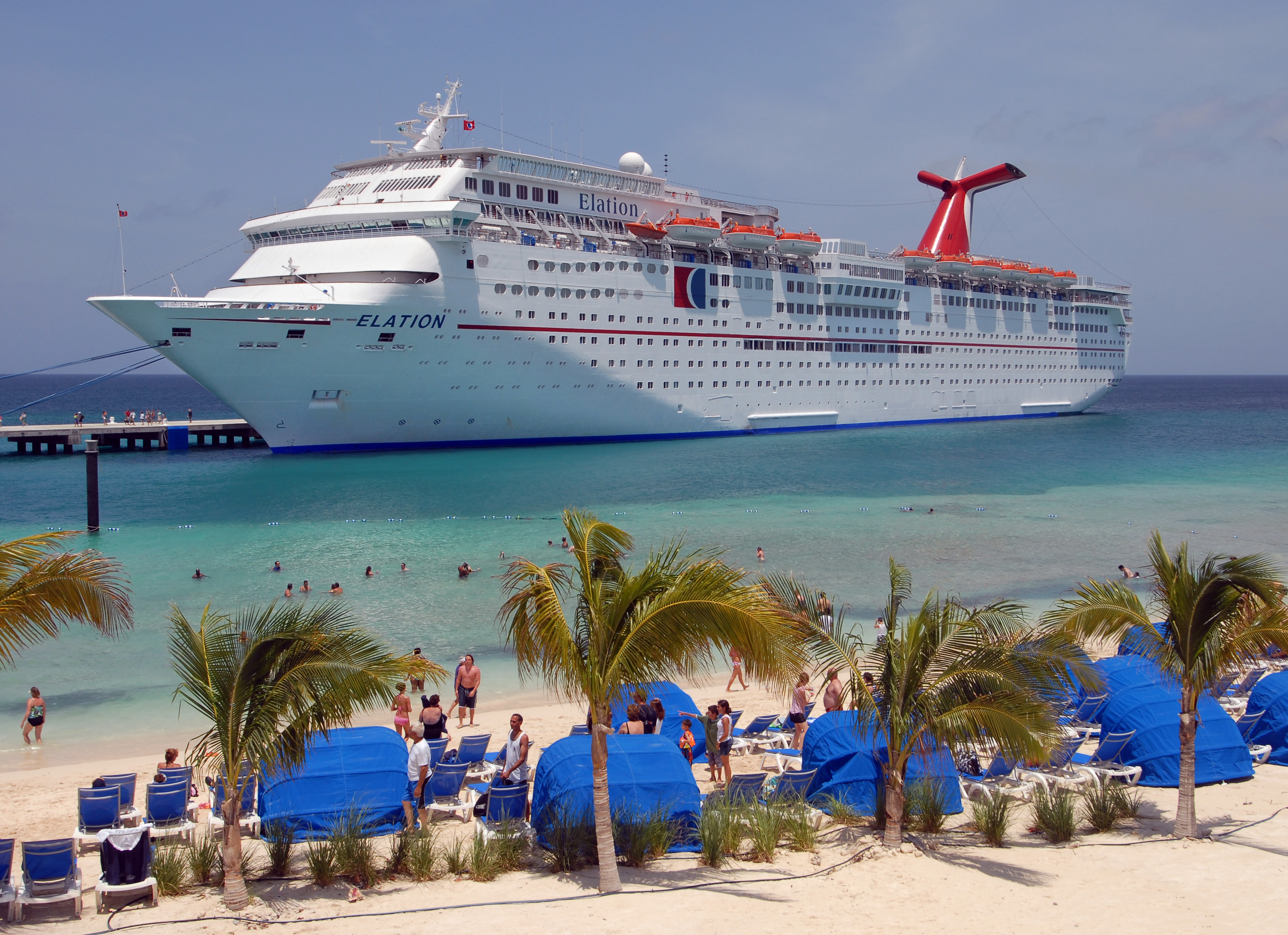 2010 A Record Year for Grand Turk Cruise Center With Nearly 250 Port 3351x2432