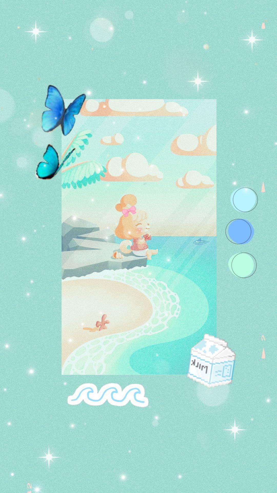 Isabelle wallpaper Trippy wallpaper Animal crossing Anime 1080x1920