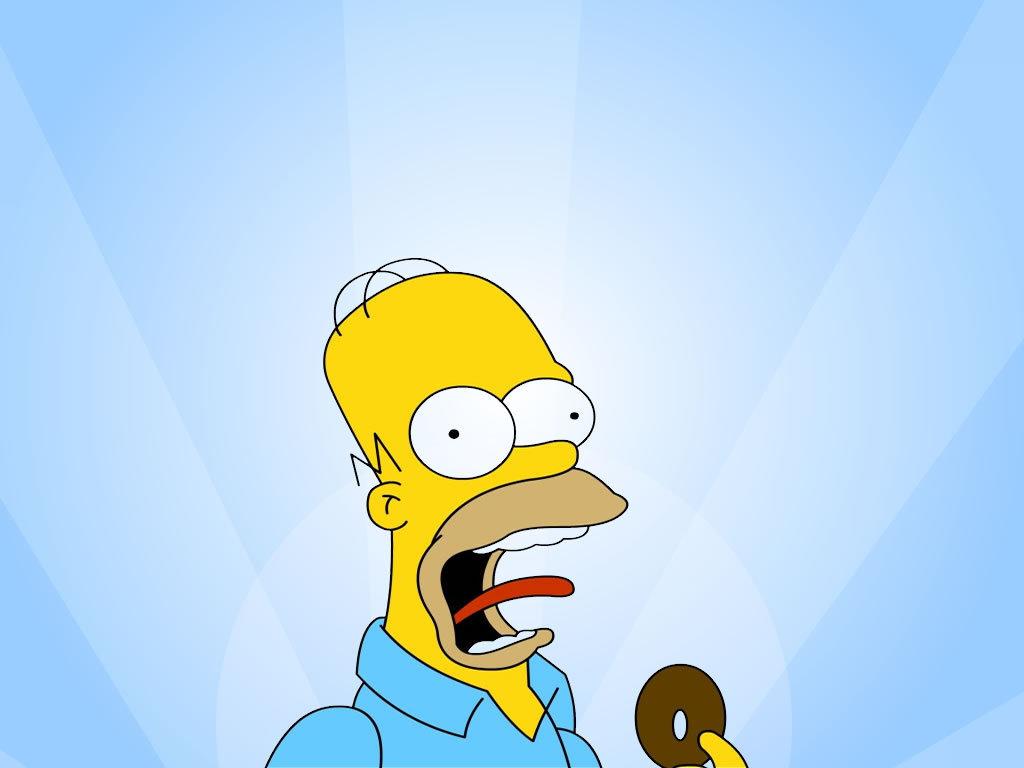 Pics Photos   Homer Simpson Wallpaper 1024x768