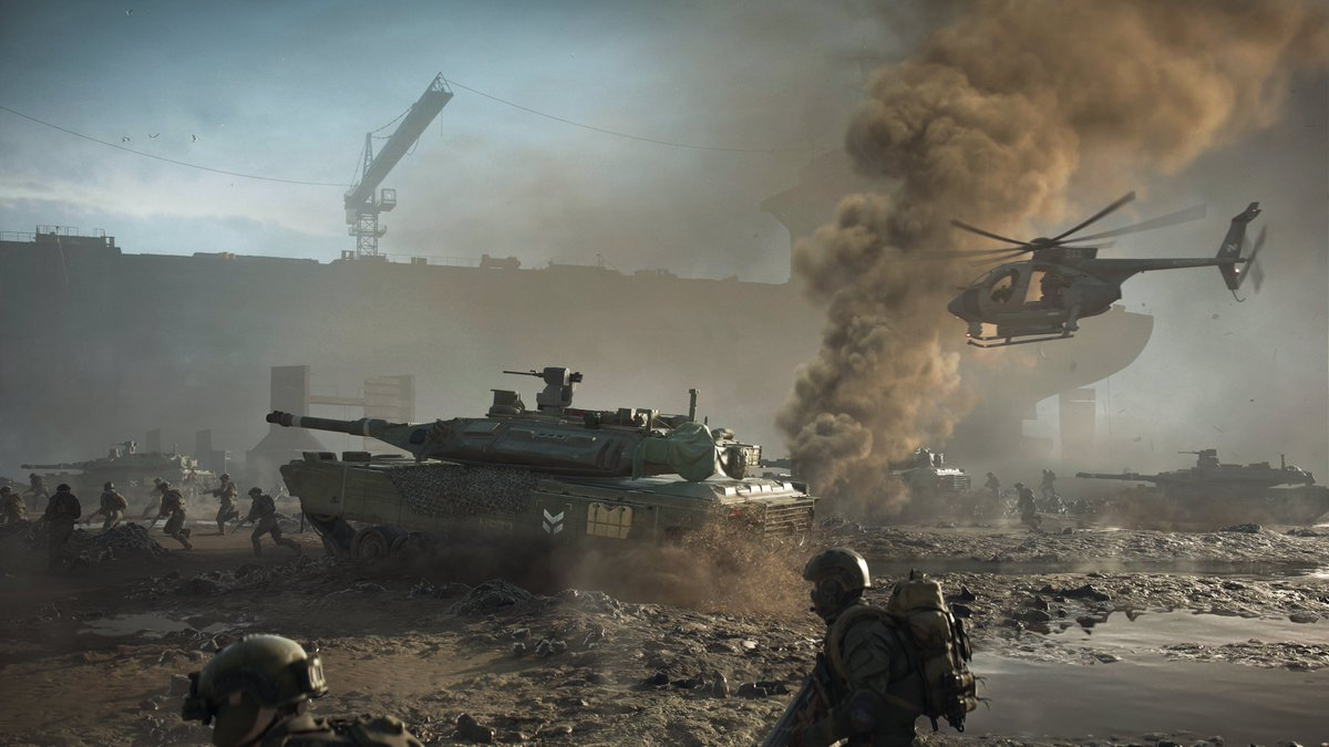 Geoff Keighley on Twitter 4K images from BATTLEFIELD 2042 1200x675