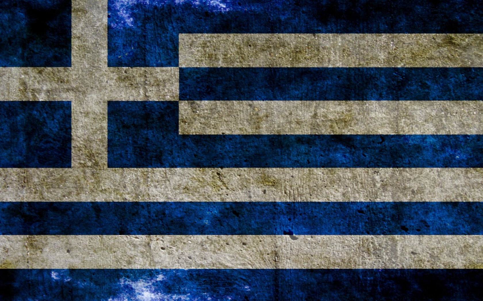 Greece flag wallpaper 5168 1680x1050