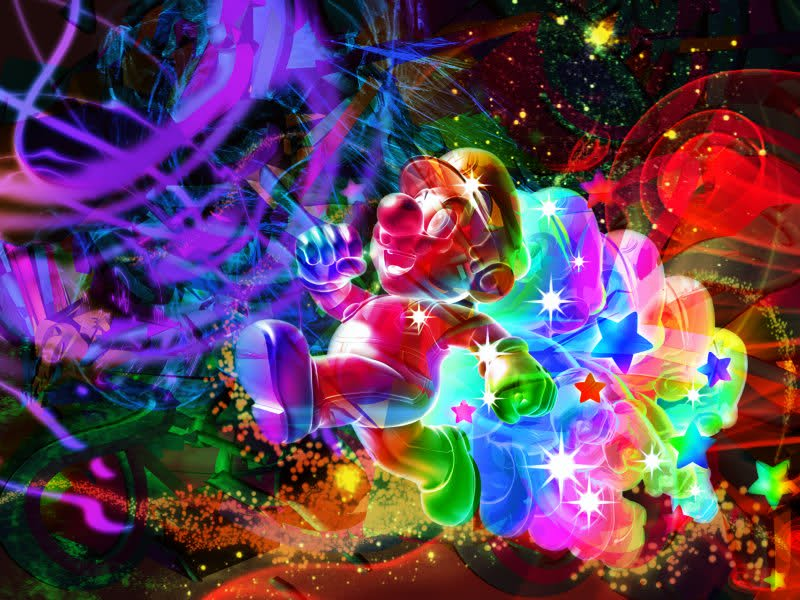 Wallpaper Rainbow Mario Galaxy Videos   User Media   TinyPic 800x600