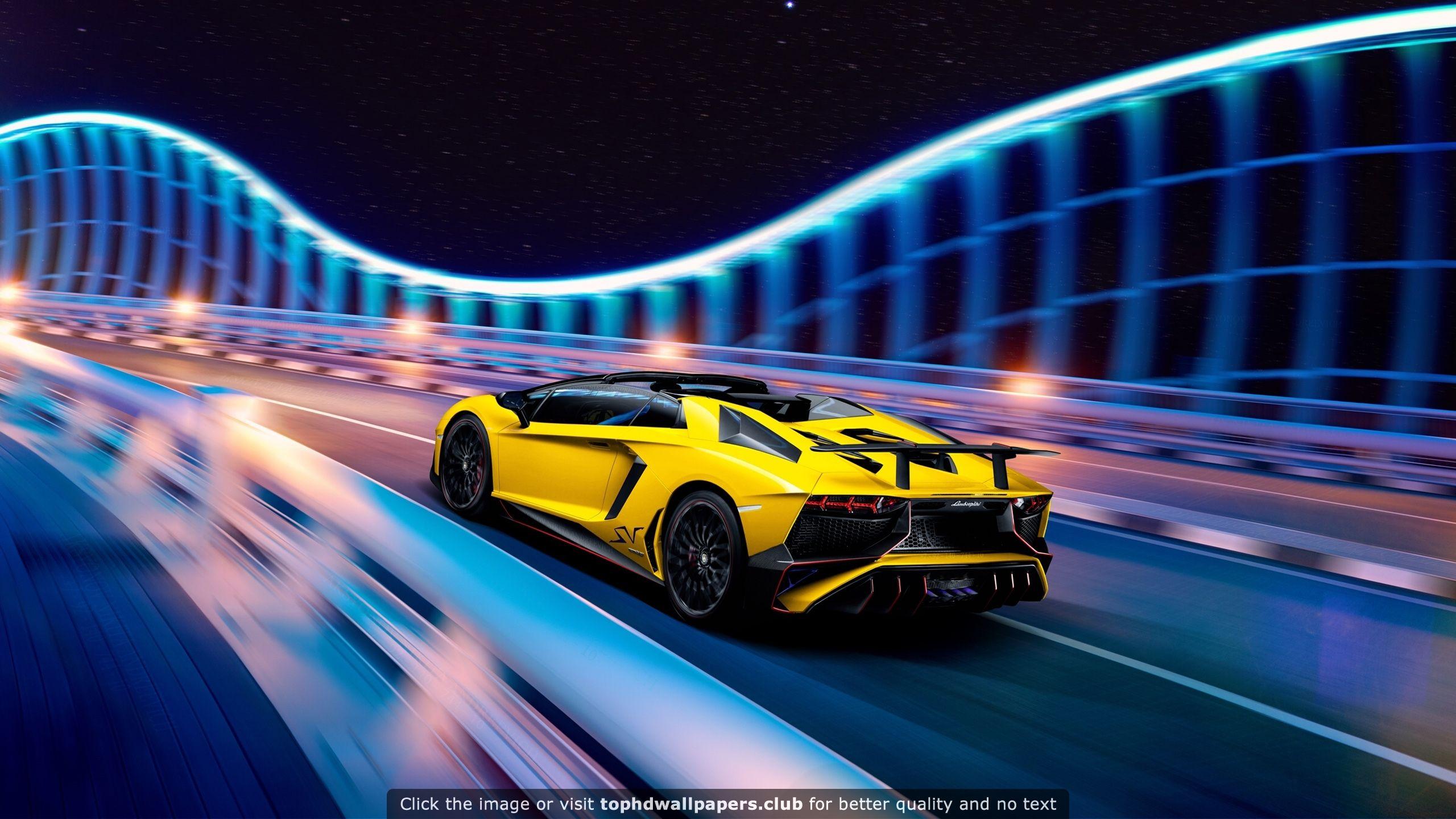 Lamborghini Aventador LP SuperVeloce Roadster wallpaper MY BF 2560x1440