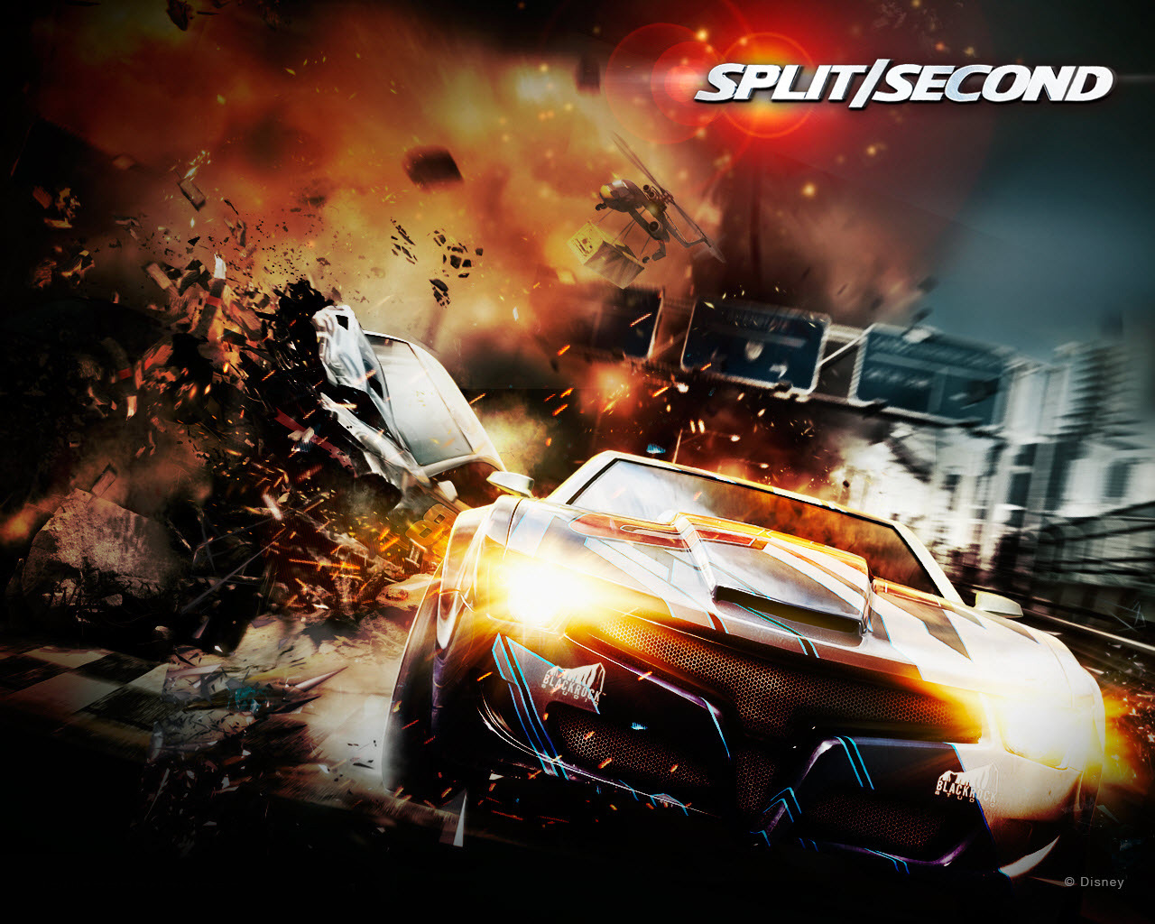 2010 Spilt Second Racing Game Wallpapers HD Wallpapers 1280x1024