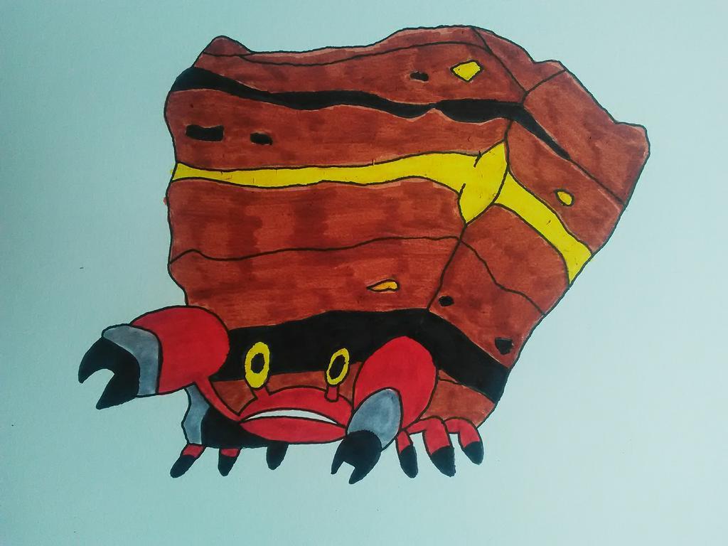 Pokemon   Crustle Crabaraque by Psykokwak777 1024x768