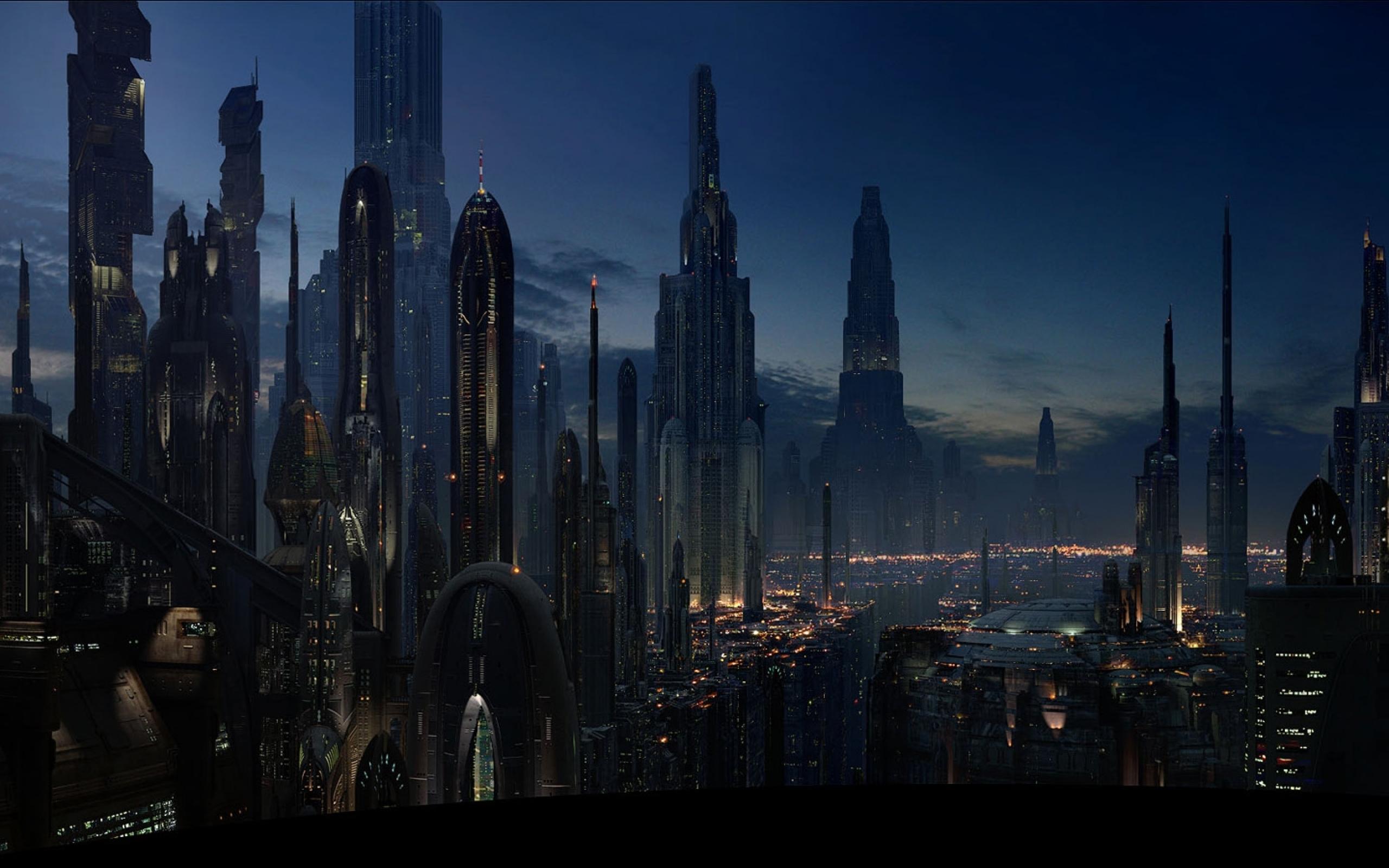 Star Wars Landscape HD Coruscant 2560 1600 star wars 24716355 2560 2560x1600