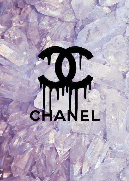background chanel coco chanel cute diamonds fab heart i love it 500x697