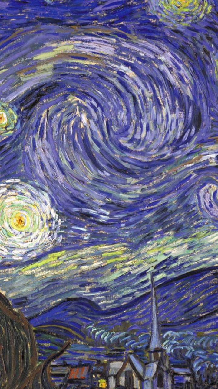 doctor who starry night wallpaper wallpapersafari