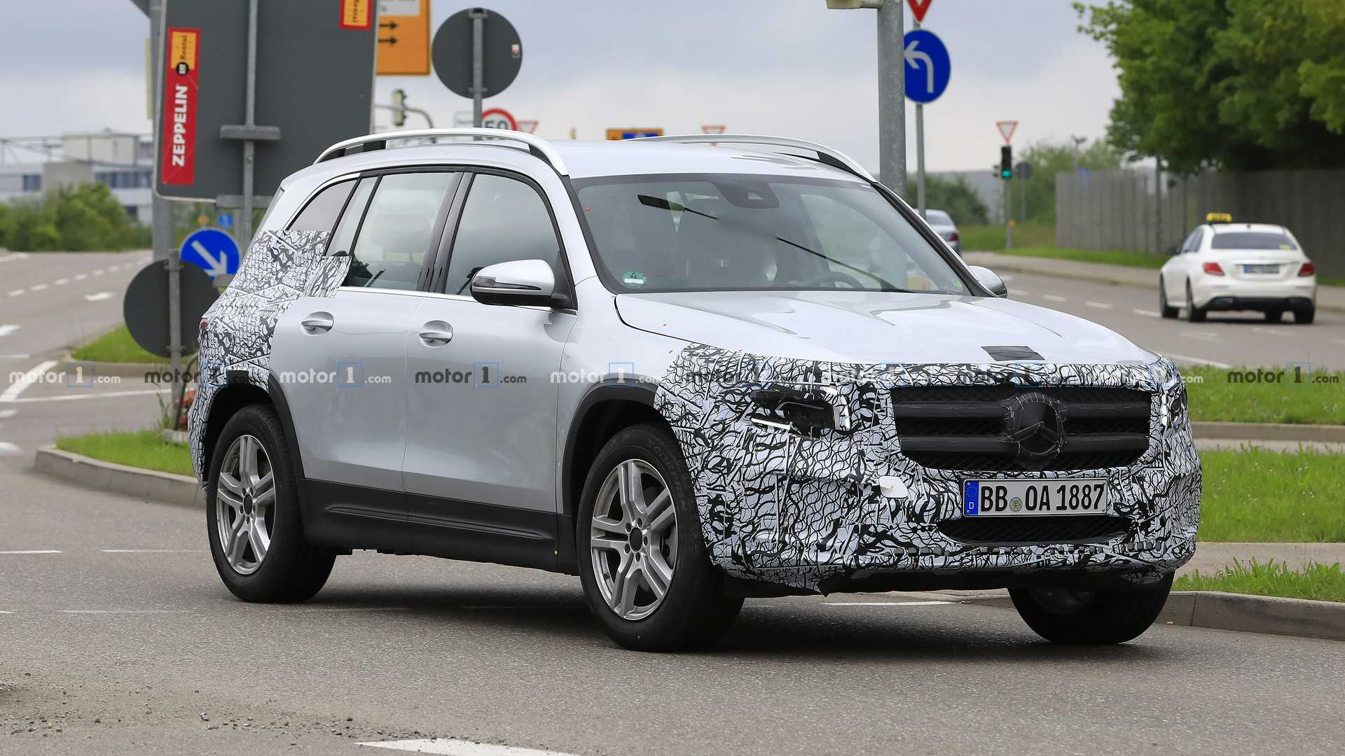 2020 Mercedes GLB Our Best Look Yet Thanks To New Spy Shots 1920x1080