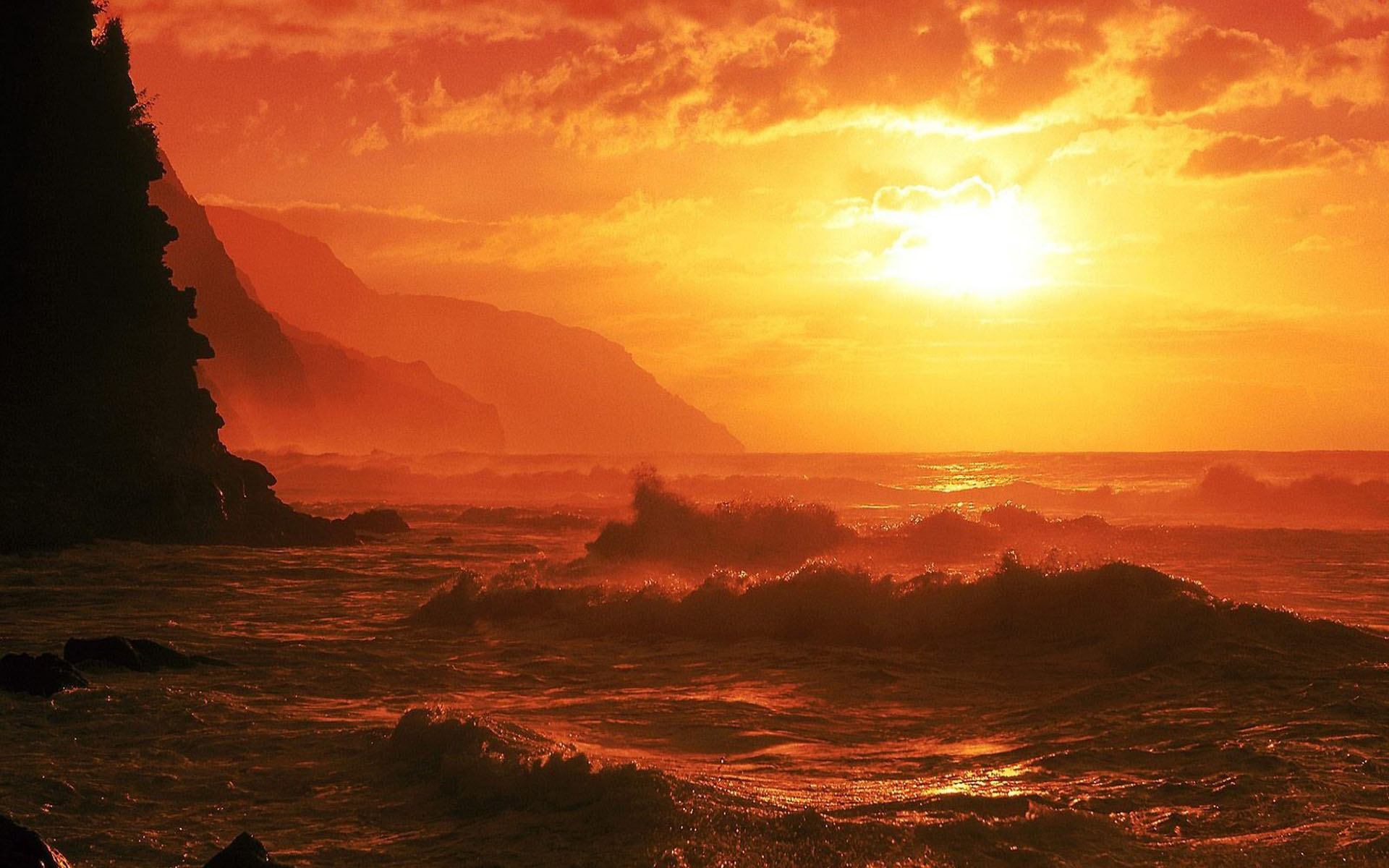 Beautiful Sunsets And Sunrises Wallpaper Wallpapers sunrise 1920x1200