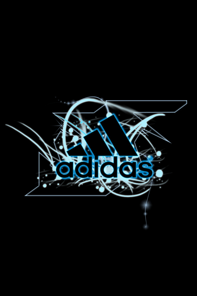 Adidas logos wallpaper for iPhone download 640x960
