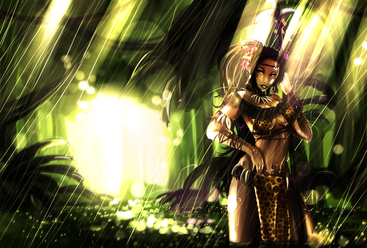 Nidalee League of Legends Wallpaper Nidalee Desktop Wallpaper 1280x866