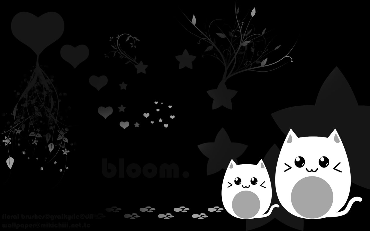 Cool Black And White Wallpaper 1280x800