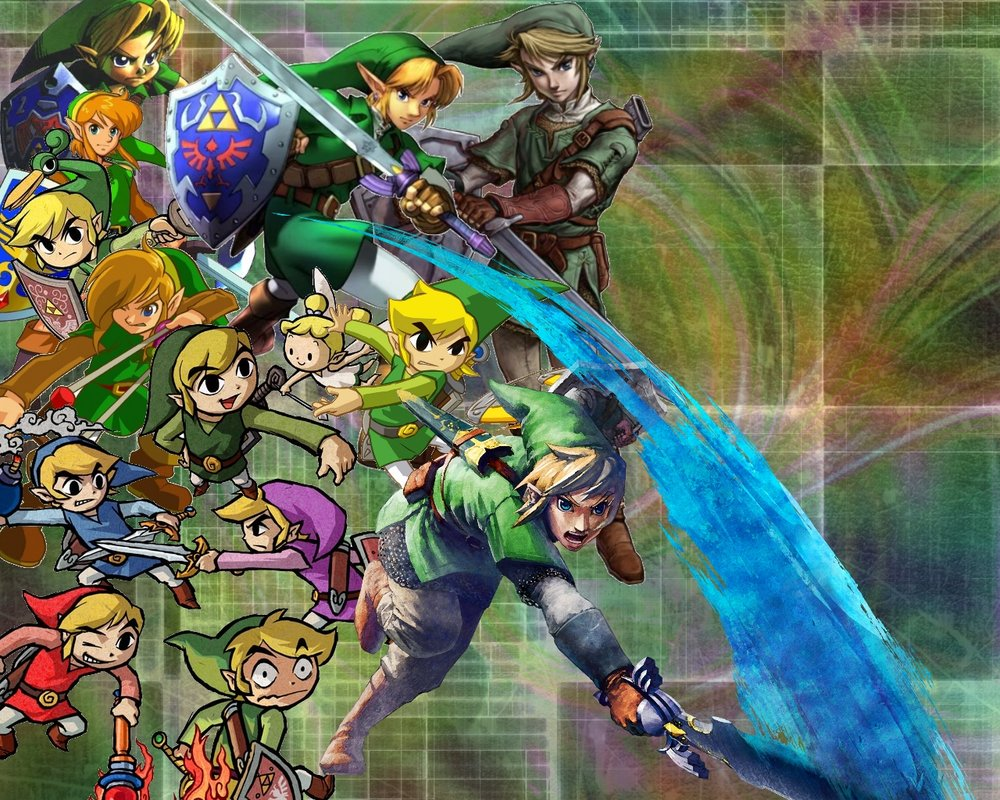 The COMPLETE Link wallpaper XD by Audralg 1000x800