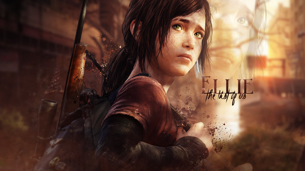 Ellies Wallpaper   The Last Of Us by SoarDesigns 1024x576