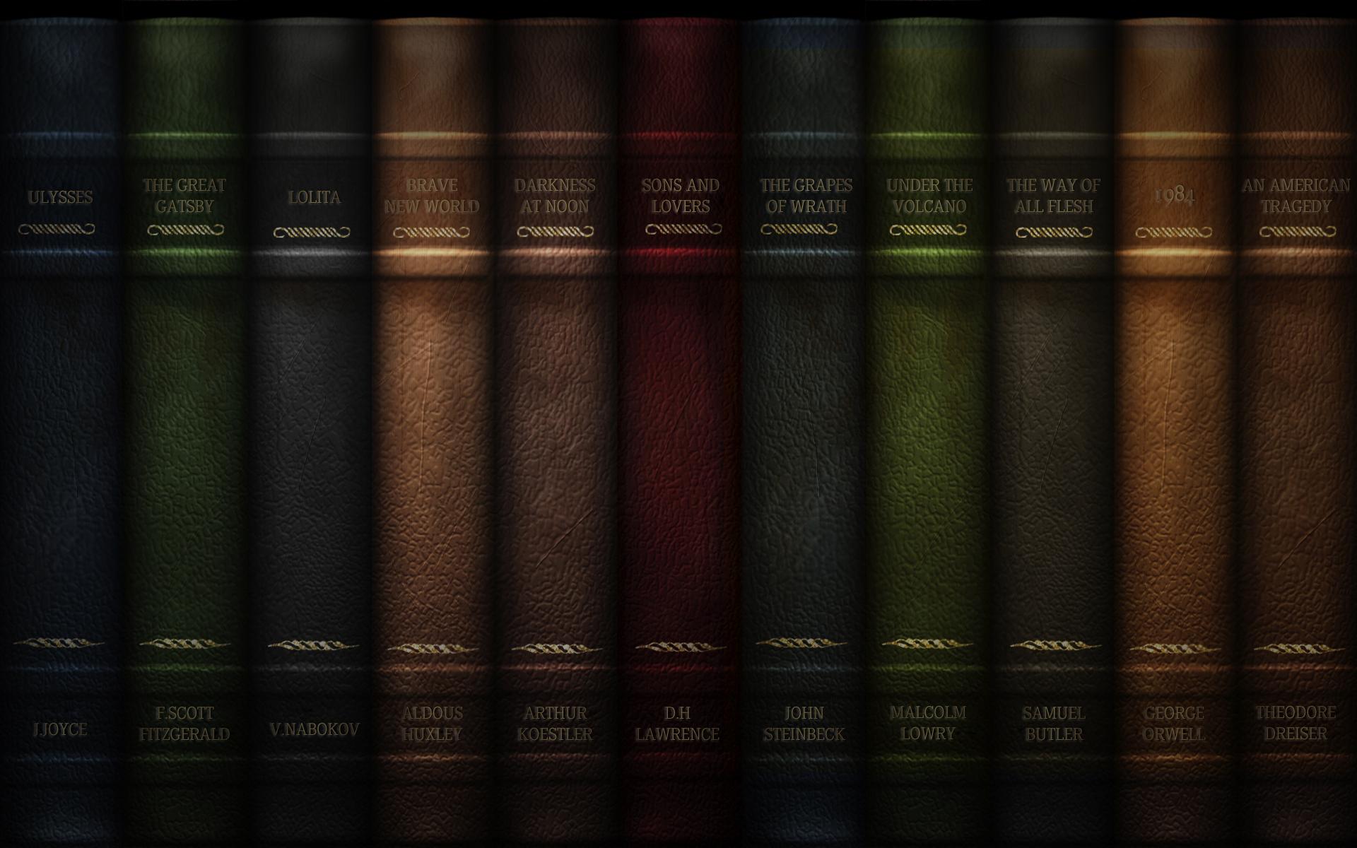 Estava procurando por wallpapers com o tema de livros e achei vrios 1920x1200