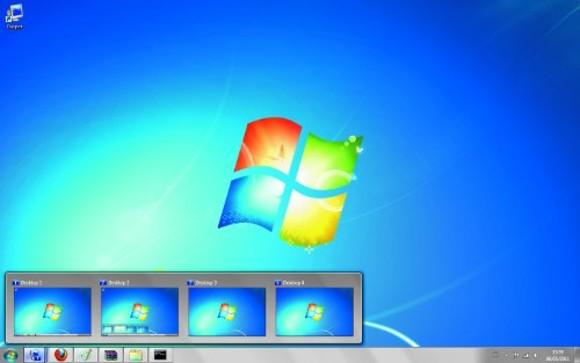 windows 7 multiple desktop backgrounds multiple monitors 580x363