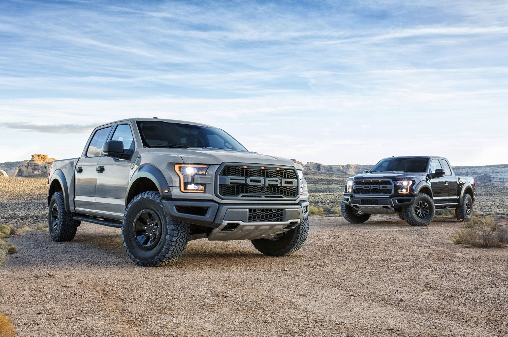 2017 Ford F 150 Raptor SuperCrew pickup muscle f150 awd wallpaper 2048x1360