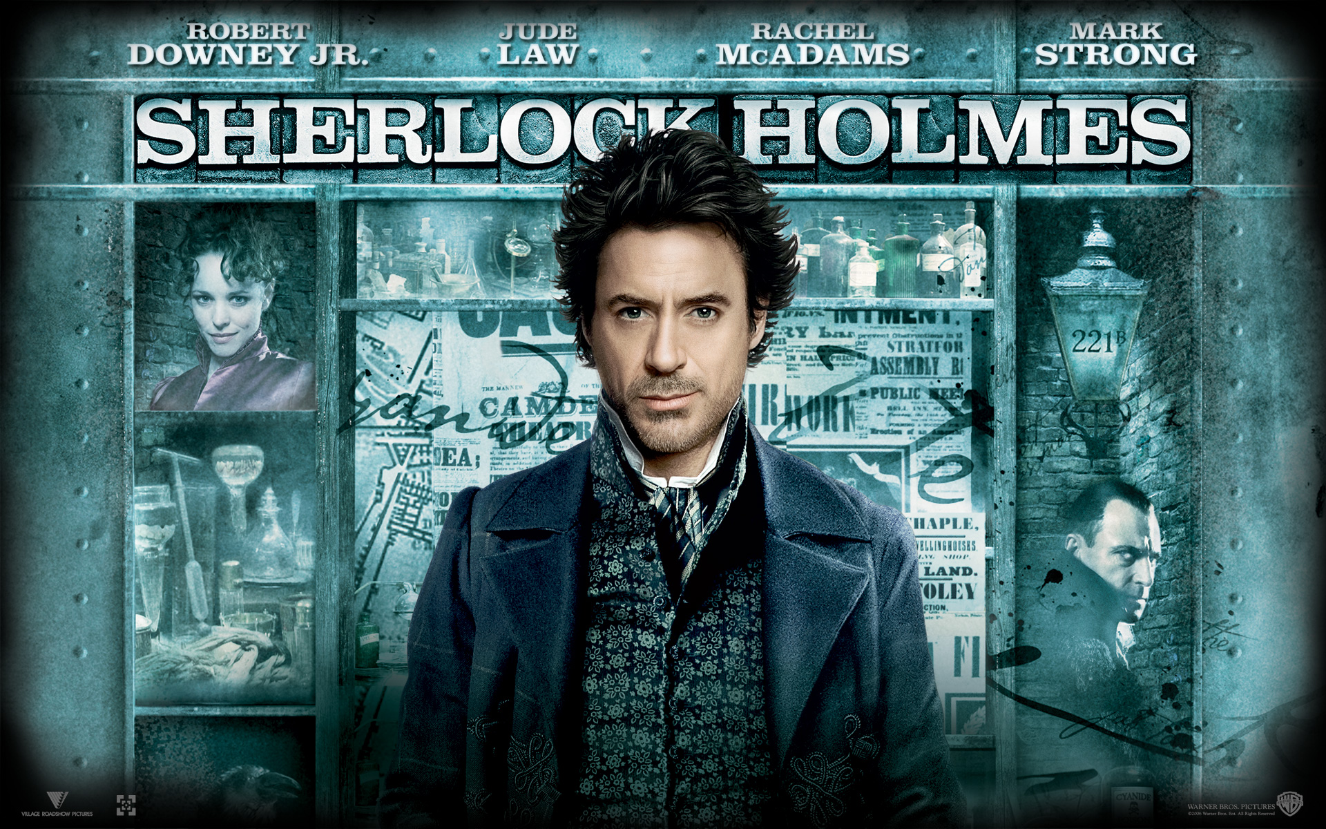 Robert Downey Jr Sherlock Holmes Wallpaper Wallpapersafari
