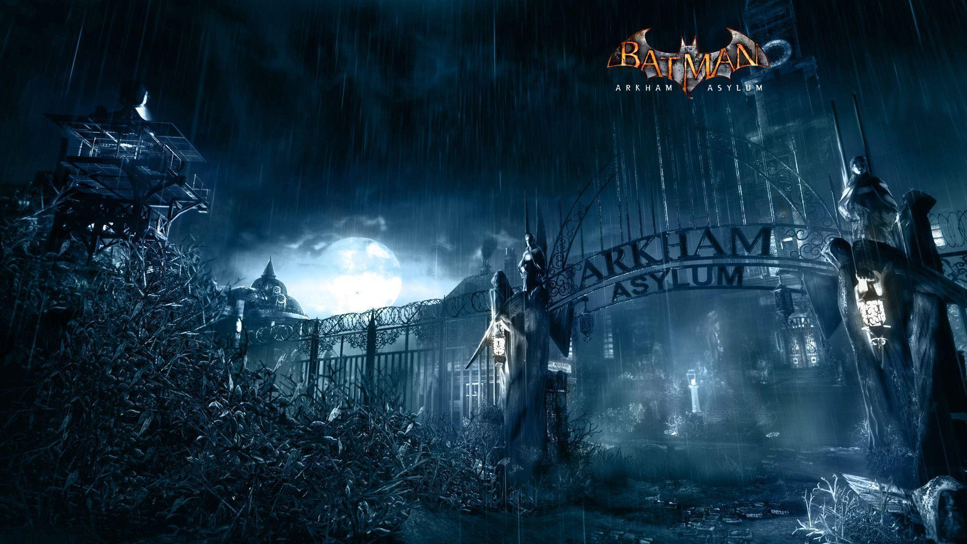 Batman Arkham Asylum Wallpapers 1920x1080