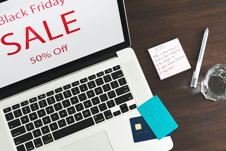 HD wallpaper Ecommerce Black Friday Photo Flatlay Sale Black 910x607