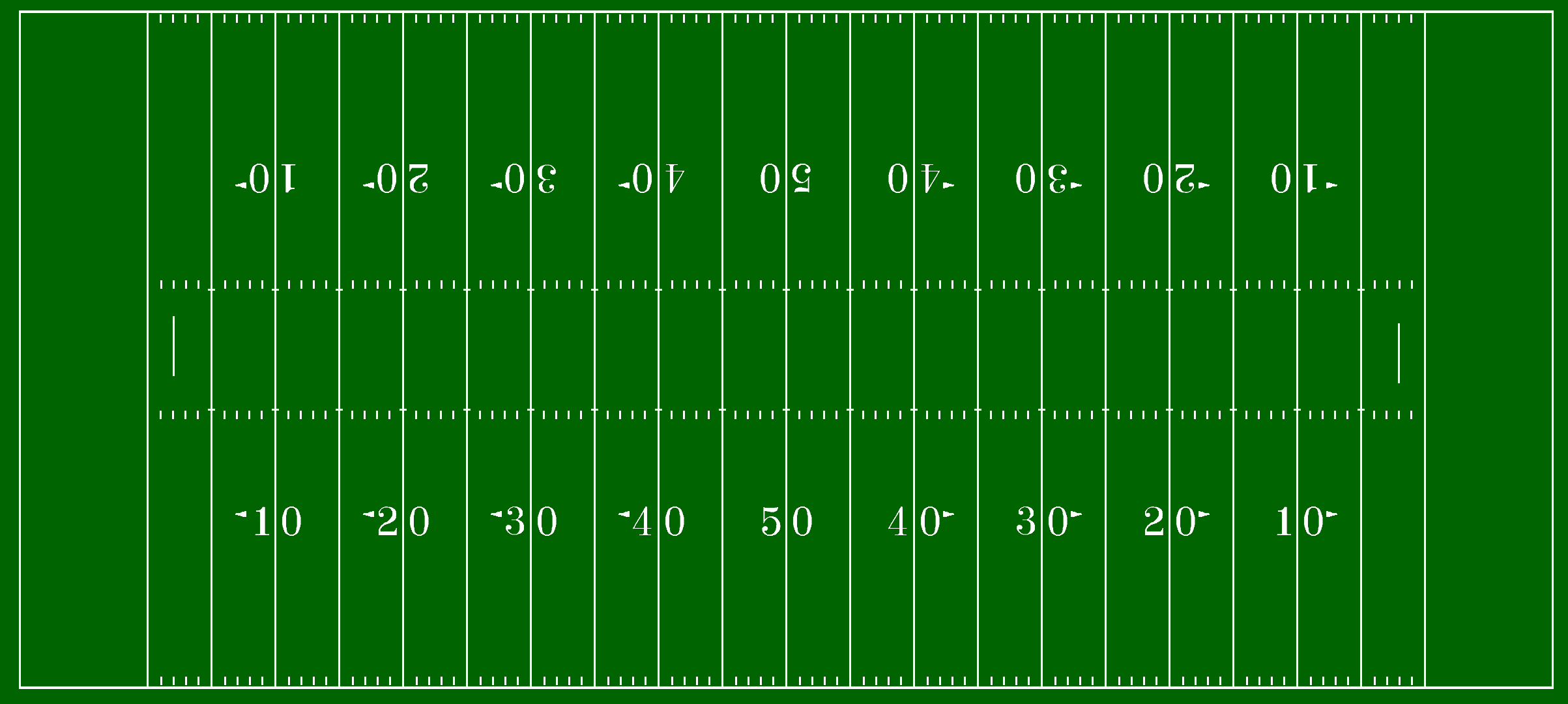 Divine image with printable football field
