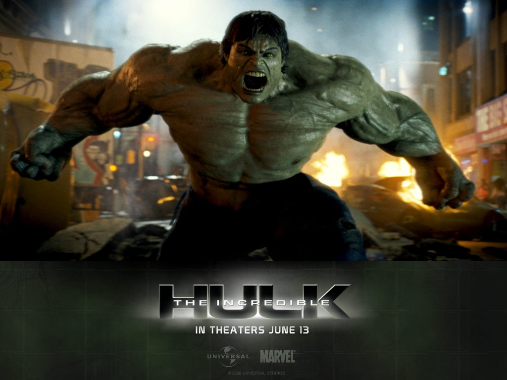 Incredible Hulk HD Wallpaper Background Images 1024x768