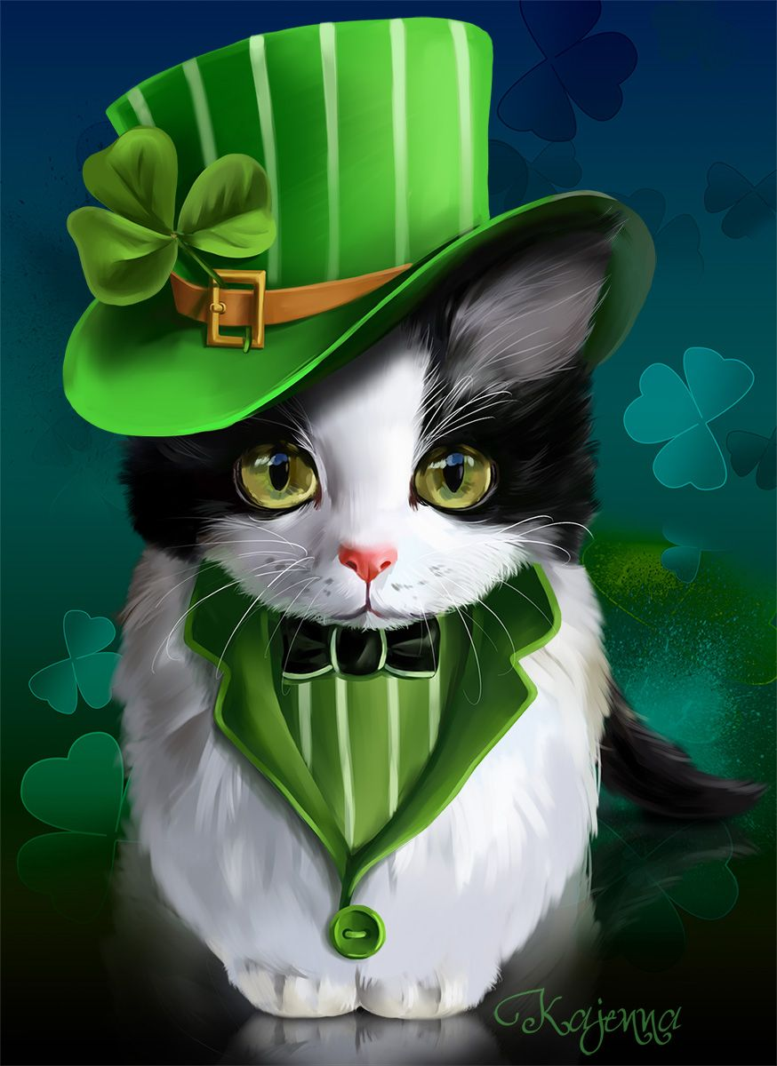 94 Best St Patricks Day cats images Cats St patricks day St 874x1200