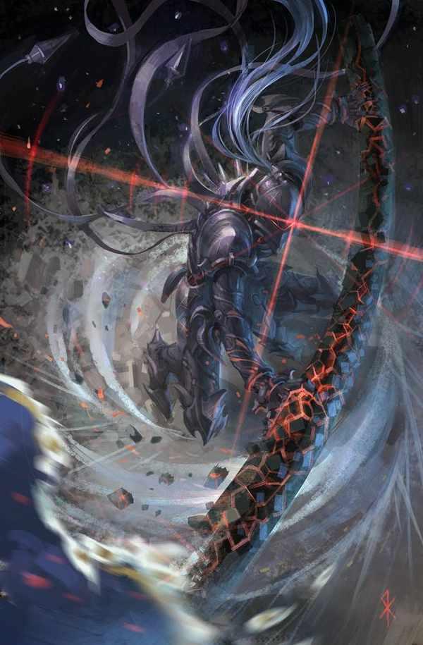 solo weapon Berserker fatezero Fate zero Seeker categories 600x915