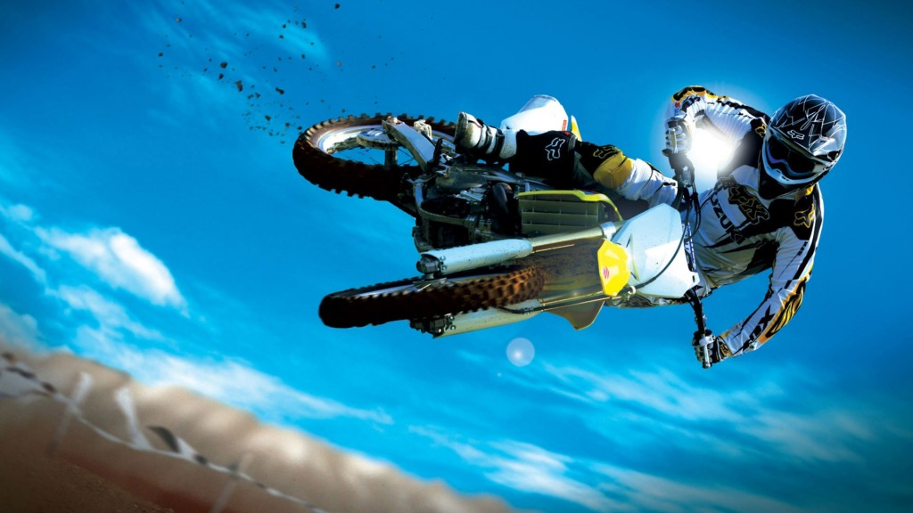 Dirt Bike Motocross Wallpaper HD 15 Motorcycle wallpaper hd background 1024x576