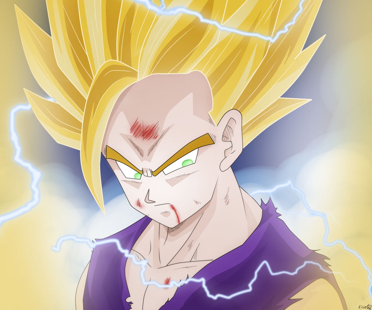 Free Download Gohan Super Saiyan 2 By Kisa122 1200x1000 For Your