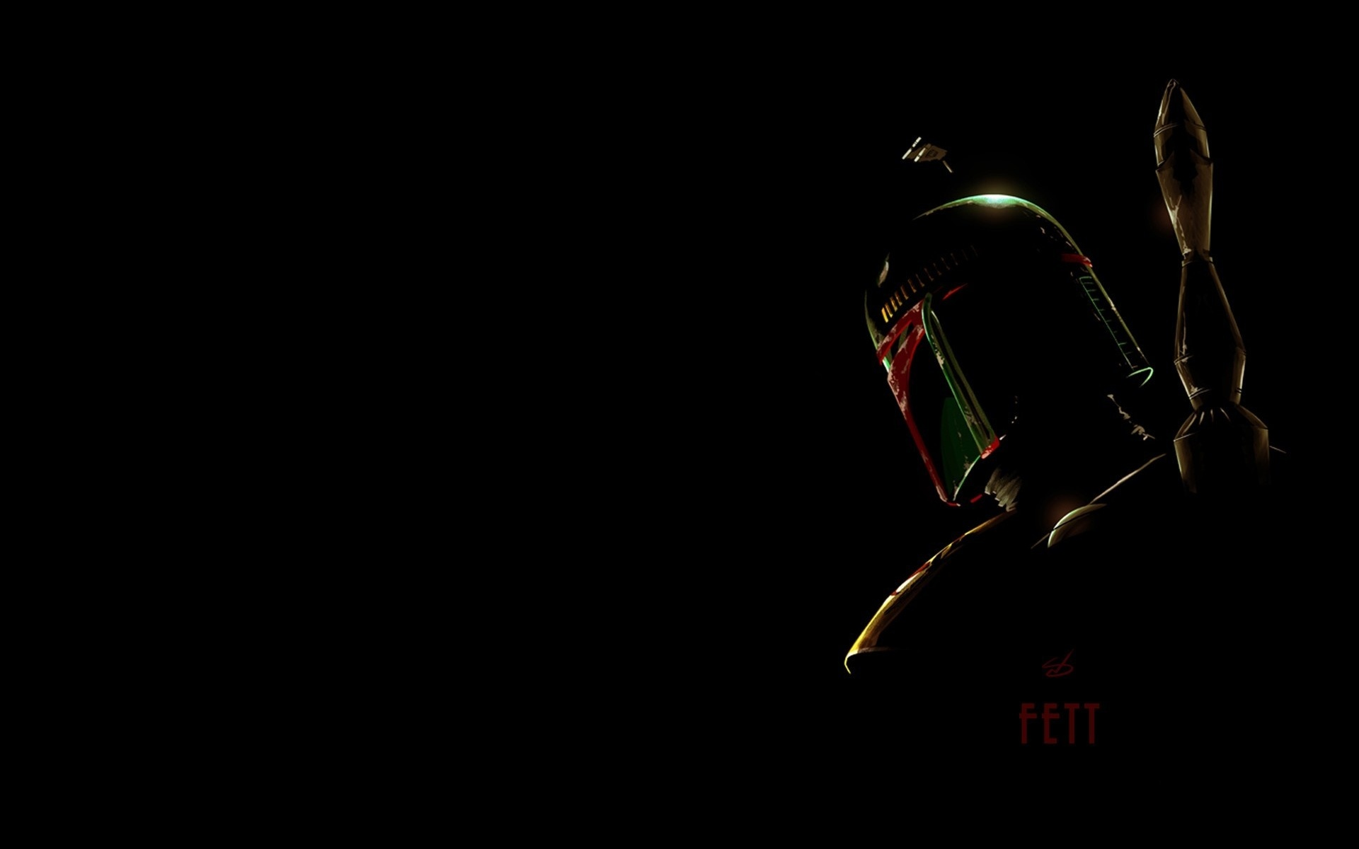 Boba fett star wars art wallpaper 1920x1200 76319 WallpaperUP 1920x1200