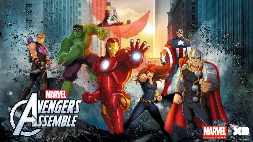 Avengers Cartoon Wallpaper Wallpapersafari