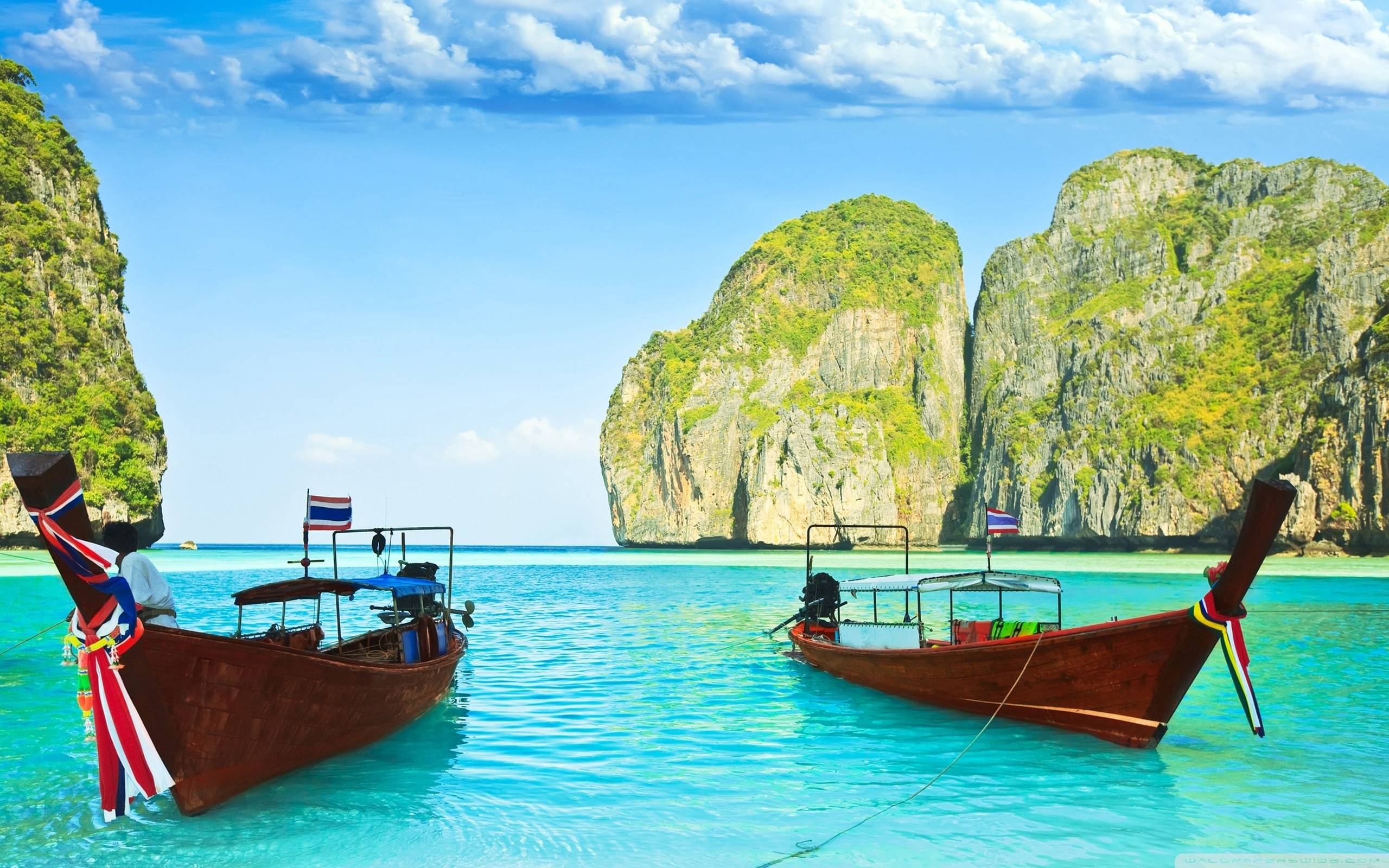 Thailand Beach Wallpapers 2560x1600