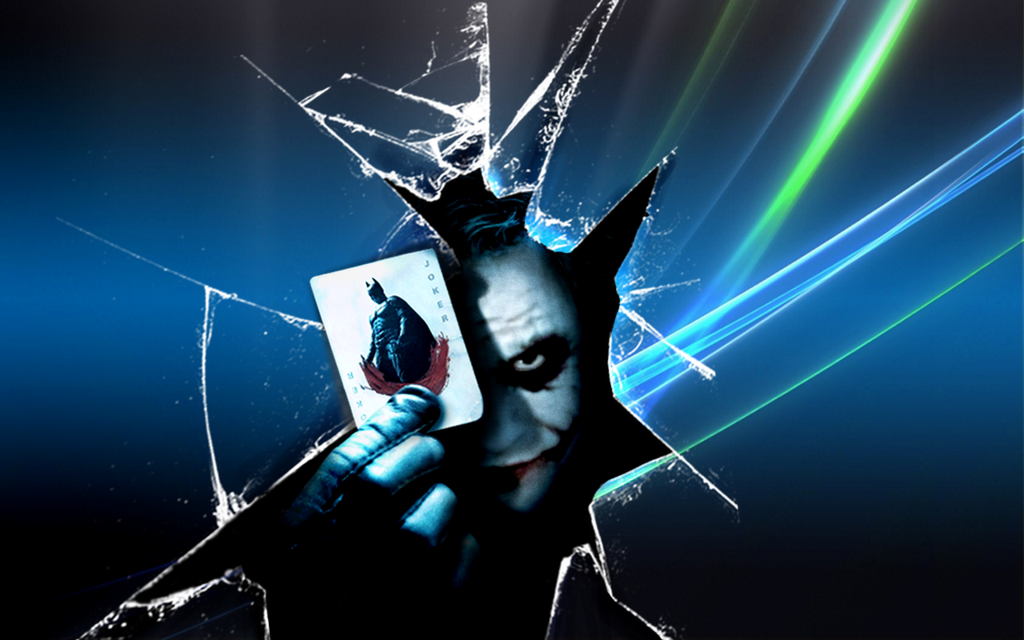 Joker Windows   wallpaper by Akinaro 1024x640