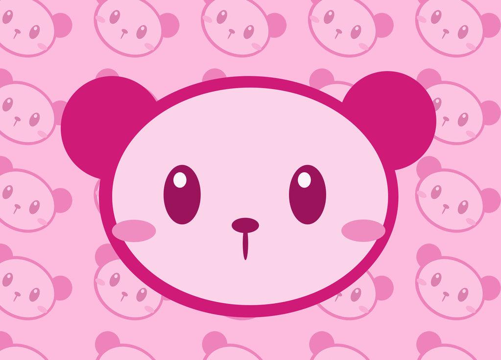 Pink Panda by ChibiLittlePanda 1023x735