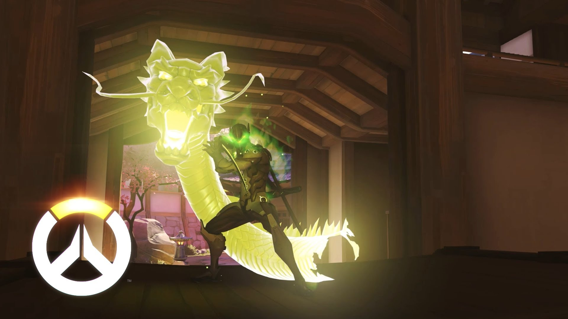 Overwatch Hero Genji Abilities Gameplay 1920x1080